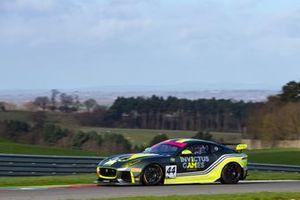 #44 Invictus Games Racing Jaguar F-TYPE SVR GT4: Steve McCulley/Paul Vice, Matthew George