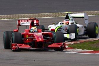 Felipe Massa, Ferrari F60, Rubens Barrichello, Brawn BGP 001