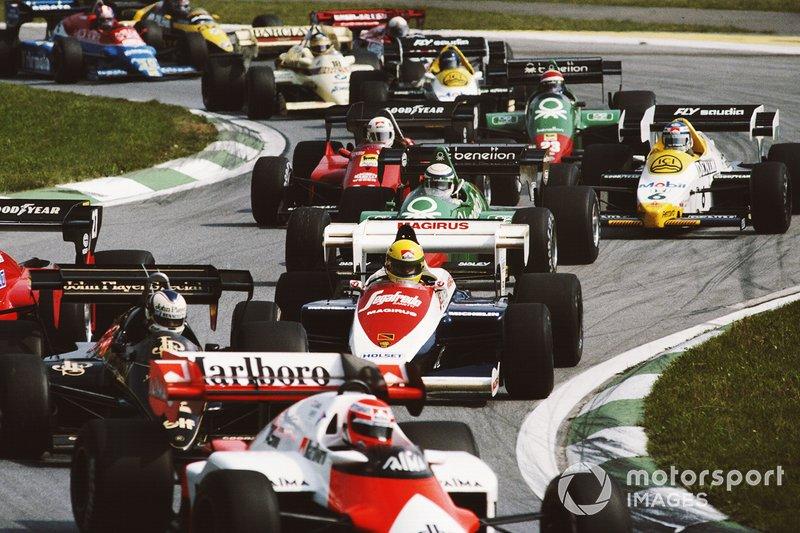 Carrera número 400: GP de Austria 1984