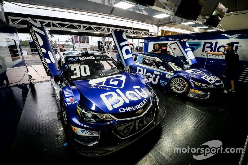 Blau Motorsport - Allam Khodair (18) e Cesar Ramos (30)