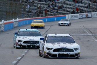 Brad Keselowski, Team Penske, Ford Mustang Lite, Matt Tifft, Front Row Motorsports, Ford Mustang Surface Sunscreen / Tunity