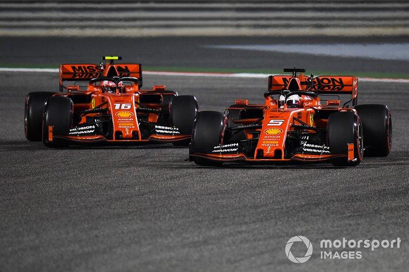 Ferrari 2019: Sebastian Vettel, Charles Leclerc
