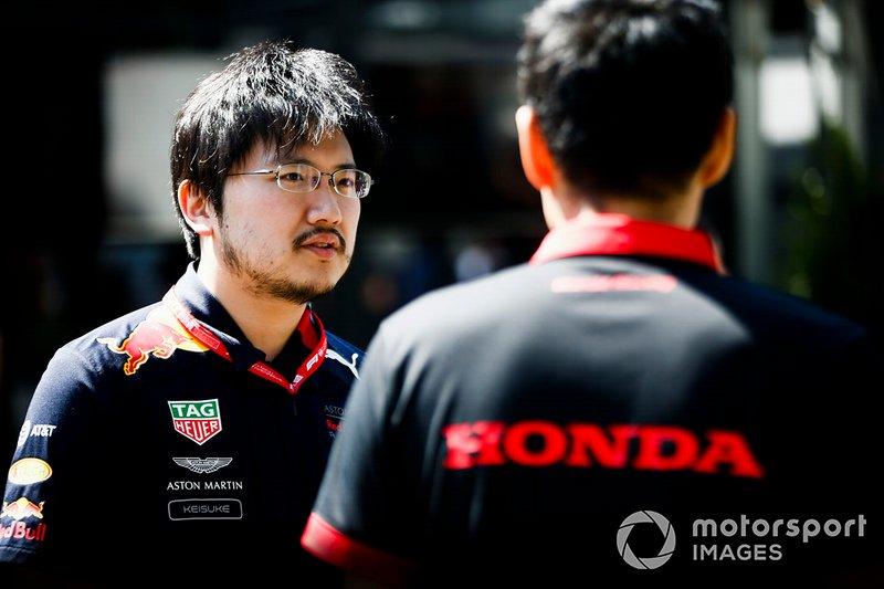 Red Bull Racing and Honda engineers
