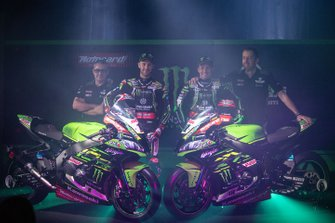 Jonathan Rea, Kawasaki Racing Team, Leon Haslam, Kawasaki Racing Team, Marcel Duinker, crew chief of Leon Haslam, Kawasaki Racing Team, Pere Riba, crew chief of Jonathan Rea, Kawasaki Racing Team