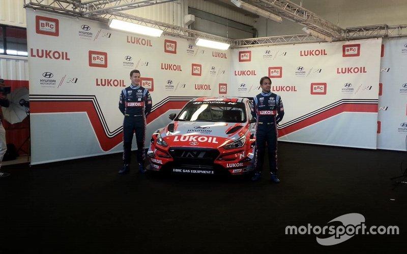 Nick Catzburg, Augusto Farfus, BRC Racing Team Hyundai i30 N TCR