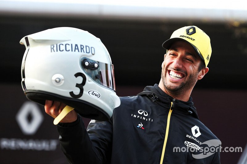 Daniel Ricciardo, Renault F1 Team, GP de China