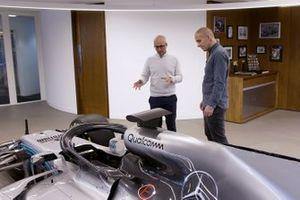 Dans l'usine Mercedes-AMG Petronas Motorsport