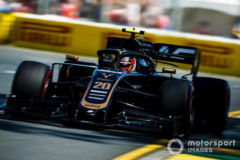 Кевин Магнуссен, Haas F1 Team VF-19, 1:22.099