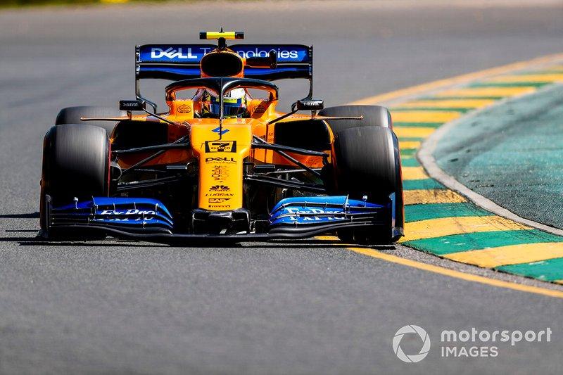 12 місце — Ландо Норріс, McLaren. Умовний бал — 8,68
