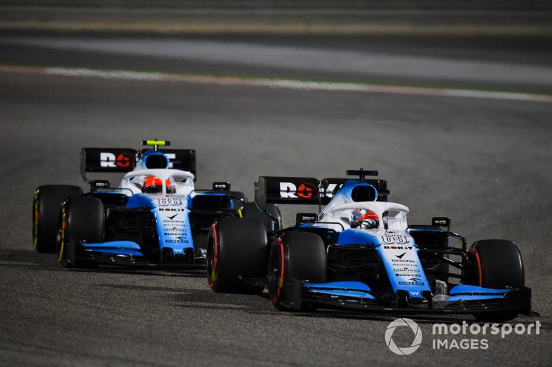 Williams in 2019: George Russell, Robert Kubica