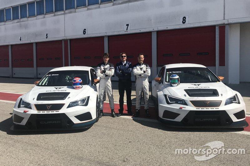 Savaltore Tavano, Matteo Greco, Tarcisio Bernasconi, Scuderia del Girasole, Cupra TCR
