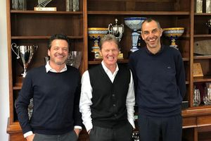 Pedro, Malcom Wilson ed Emanuele Baldaccini