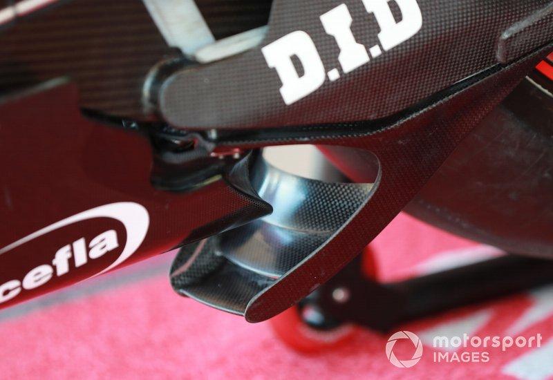 Ducati Swingarm spoiler
