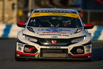 #73 LA Honda World Racing Honda Civic TCR, TCR: Mike LaMarra, Mat Pombo