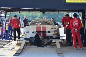 The #66 TA Ford Mustang driven by Denny Lamers of Lamers Motor Racing passes through inspection