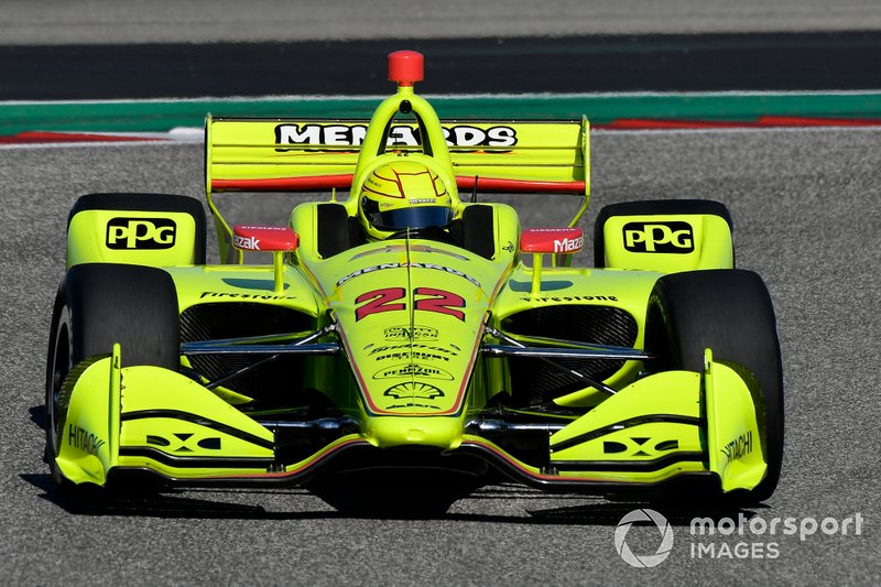 #22: Simon Pagenaud, Team Penske, Chevrolet