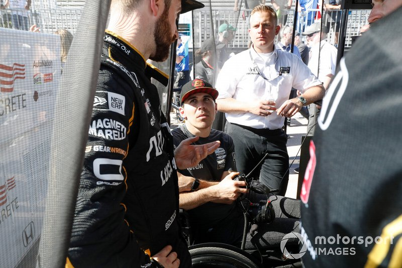 Robert Wickens, Arrow Schmidt Peterson Motorsports Honda