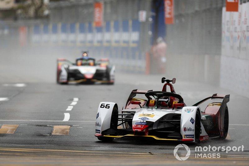 Daniel Abt, Audi Sport ABT Schaeffler, Audi e-tron FE05 Lucas Di Grassi, Audi Sport ABT Schaeffler, Audi e-tron FE05