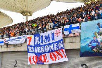Support for Kimi Raikkonen, Alfa Romeo Racing