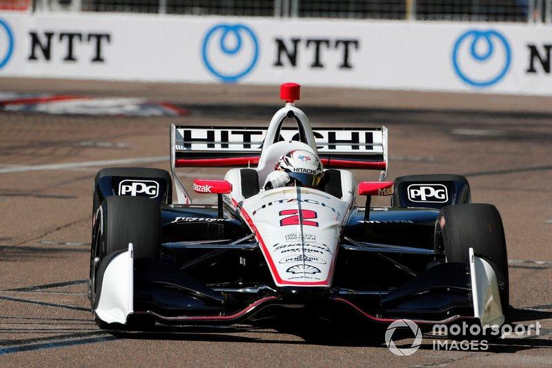 Na IndyCar, a temporada 2020 teve o cancelamento das quatro primeiras provas