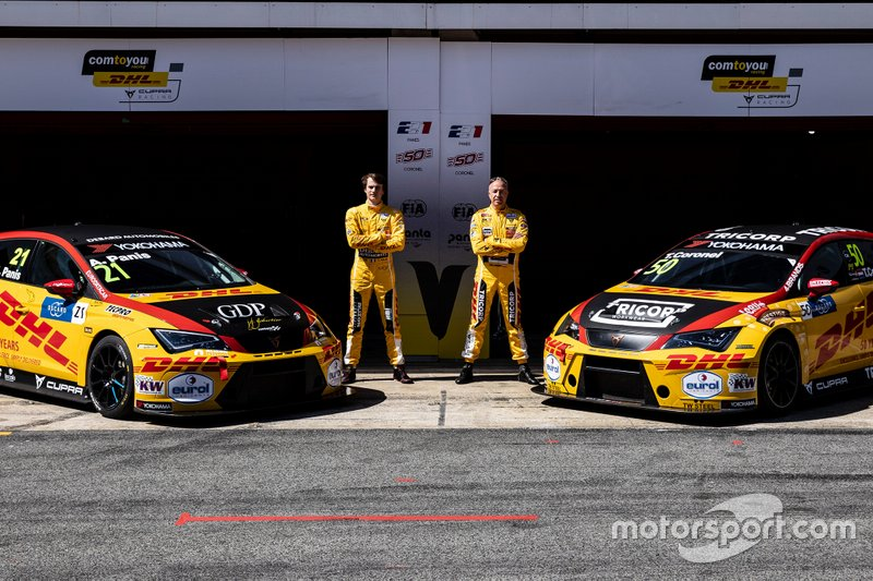 Команда Comtoyou Team DHL CUPRA Racing (Бельгия): Орельен Панис и Том Коронель
