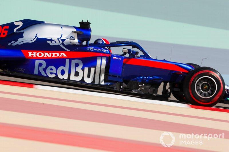 23 місце — Данііл Квят, Toro Rosso — 1