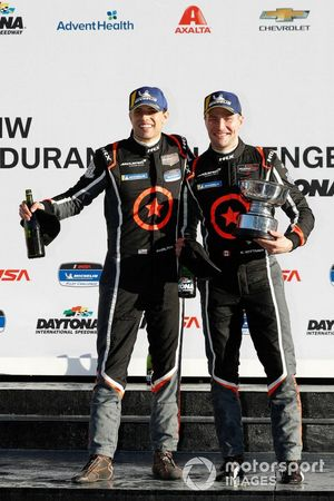 #Podium: 75 Compass Racing McLaren GT4, GS, Paul Holton, Kuno Wittmer