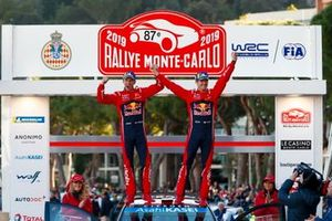 Les vainqueurs Sébastien Ogier, Julien Ingrassia, Citroën World Rally Team
