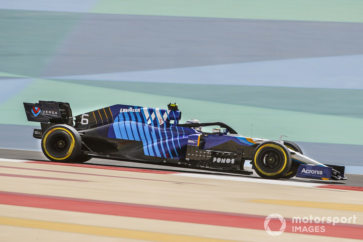 18º Nicholas Latifi, Williams FW43B, 1:31.672 (con neumático C4)