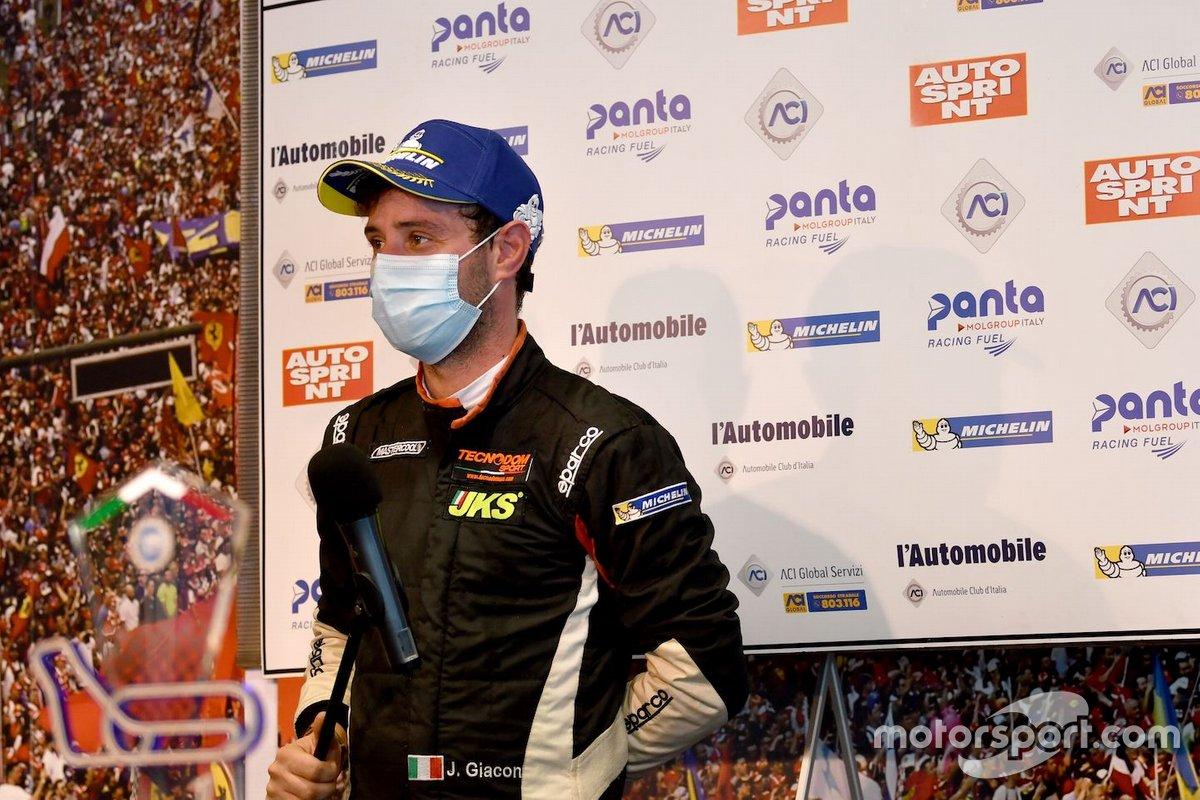 Jonathan Giacon, MM Motorsport, Honda Civic Type R TCR vince Gara1