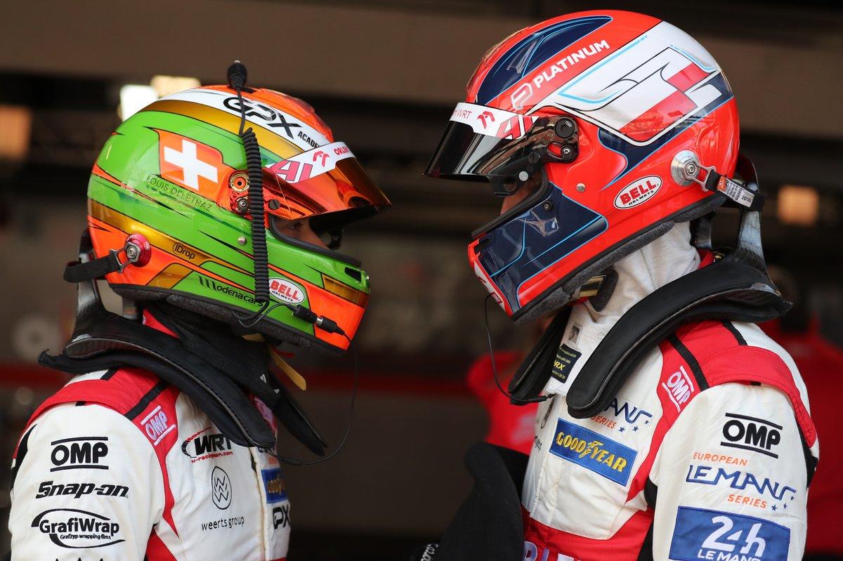 #41 Team WRT Oreca 07 - Gibson: Louis Delétraz, Robert Kubica