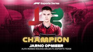 Jarno Opmeer, Alfa Romeo, F1 Esports Pro Series