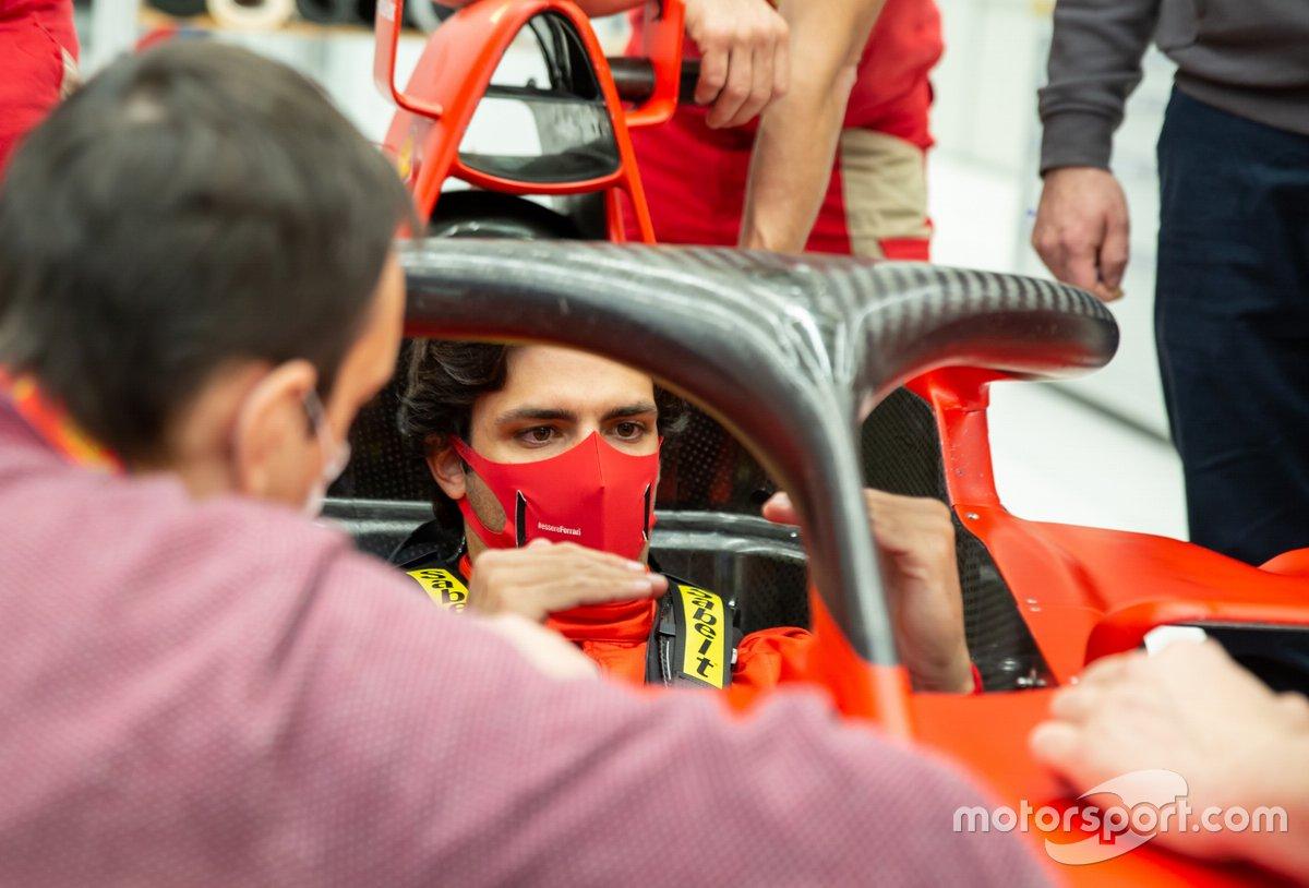 Carlos Sainz Jr, Scuderia Ferrari