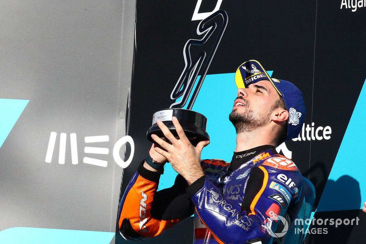 El ganador del GP de Portugal 2020, Miguel Oliveira, Red Bull KTM Tech 3