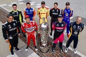 Nine Indy 500 winners: Simon Pagenaud, Scott Dixon, Ryan Hunter-Reay, Will Power, Alexander RossiJuan Pablo Montoya, Takuma Sato, Helio Castroneves, Tony Kanaan