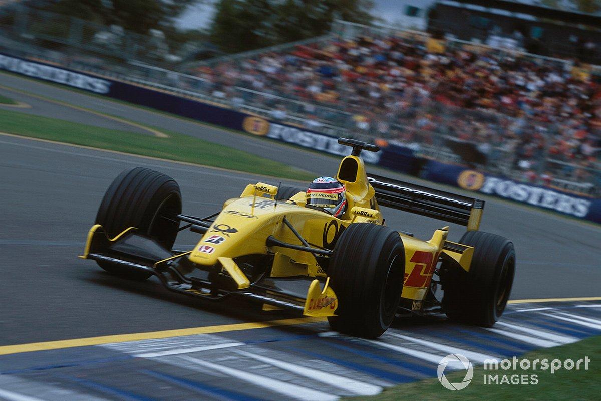 佐藤琢磨(2002年オーストラリアGP)