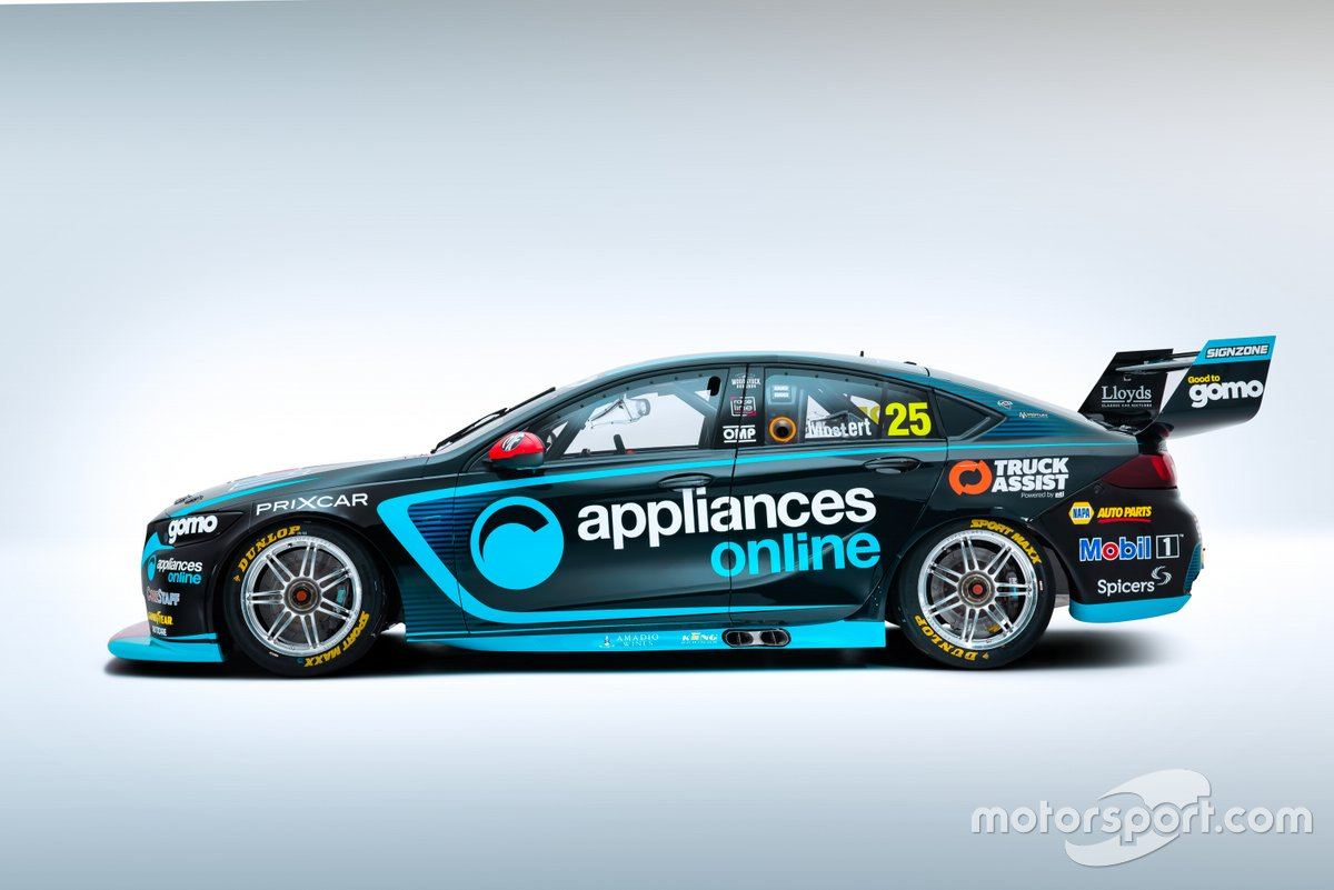 Chaz Mostert, Walkinshaw Andretti United Holden Commodore