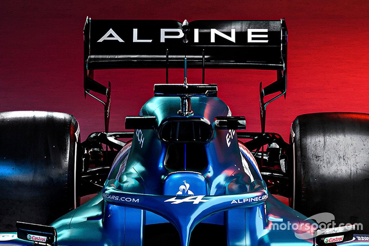 Detalle del Alpine A521