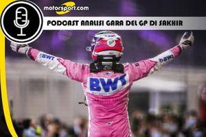 Cover Podcast Analisi della gara del GP di Sakhir