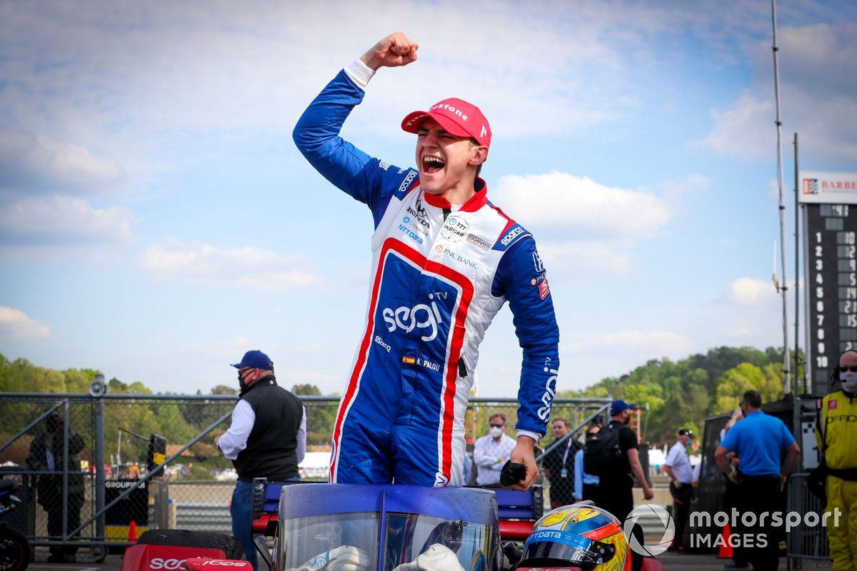 Il vincitore Alex Palou, Chip Ganassi Racing Honda