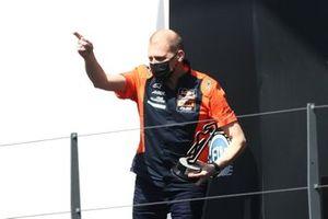 Aki Ajo, Red Bull KTM Ajo on the podium