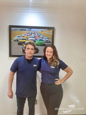 Felipe Lapenna e Bárbara Rodrigues