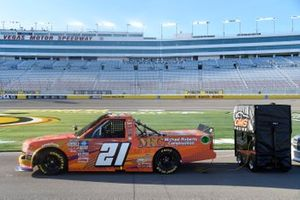 Zane Smith, GMS Racing, Chevrolet Silverado Michael Roberts Construction