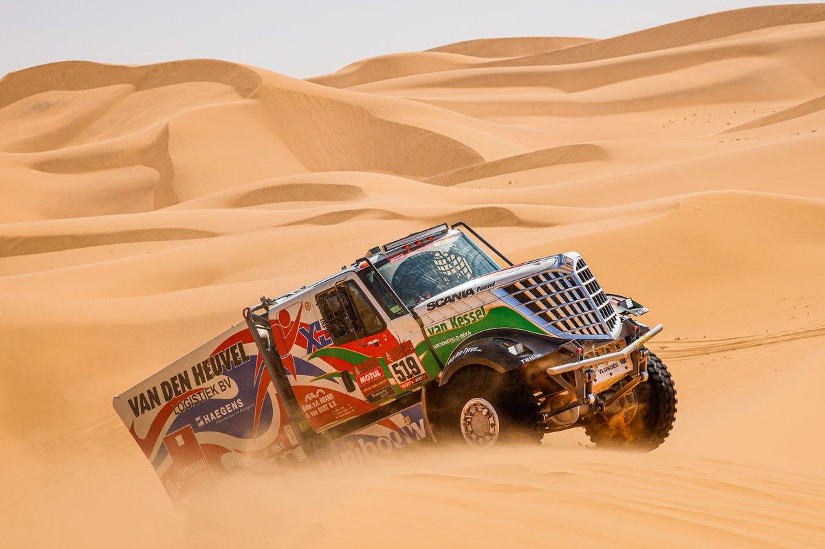 #519 Dakarspeed International: Maurik Van Den Heuvel, Wilko Van Oort, Martijn Van Rooij