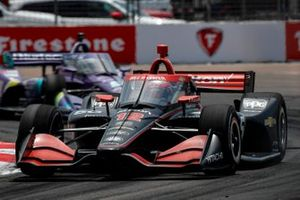 Will Power, Team Penske Chevrolet, Romain Grosjean, Dale Coyne Racing with RWR Honda