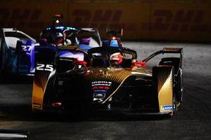 Jean-Eric Vergne, DS Techeetah, DS E-Tense FE20, Jake Dennis, BMW I Andretti Motorsport, BMW iFE.21