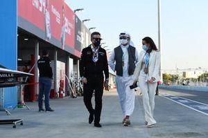 Alejandro Agag, Chairman of Formula E with VIPs