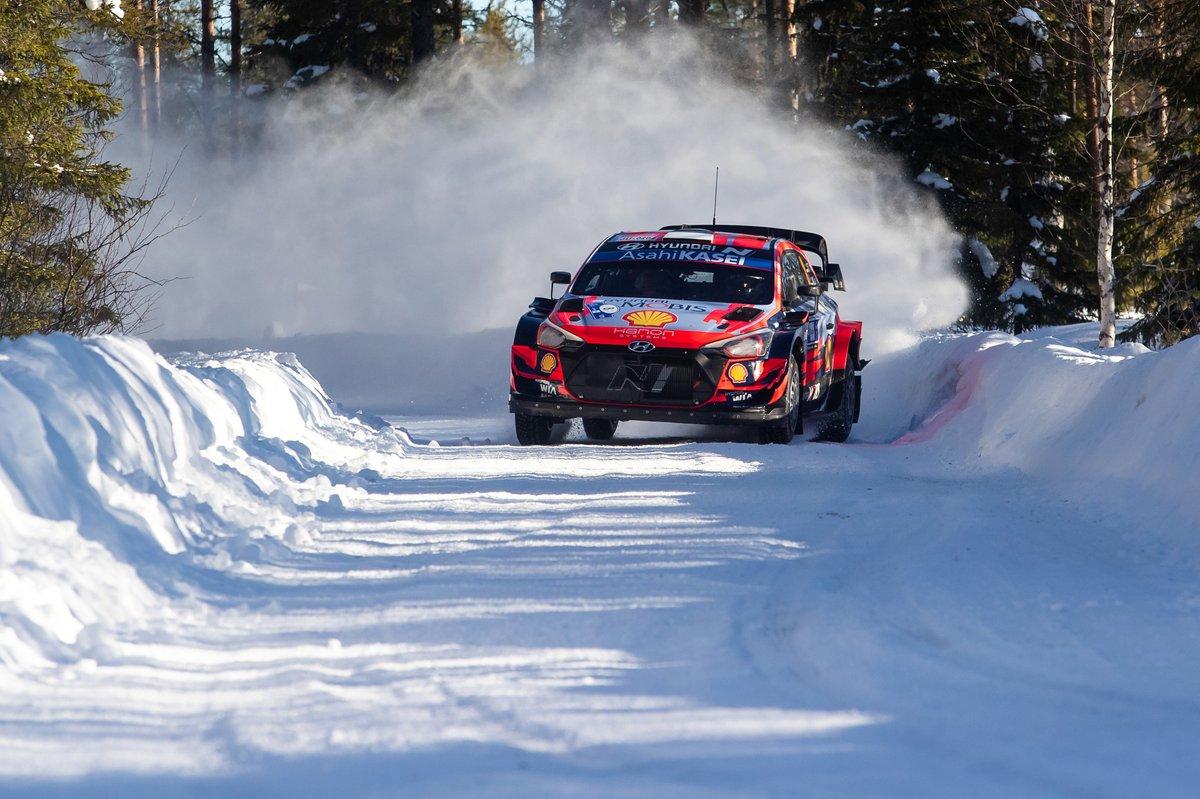 Ott Tänak, Martin Järveoja, Hyundai Motorsport Hyundai i20 Coupe WRCH