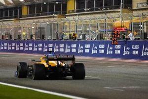 Pitbord voor Daniel Ricciardo, McLaren MCL35M