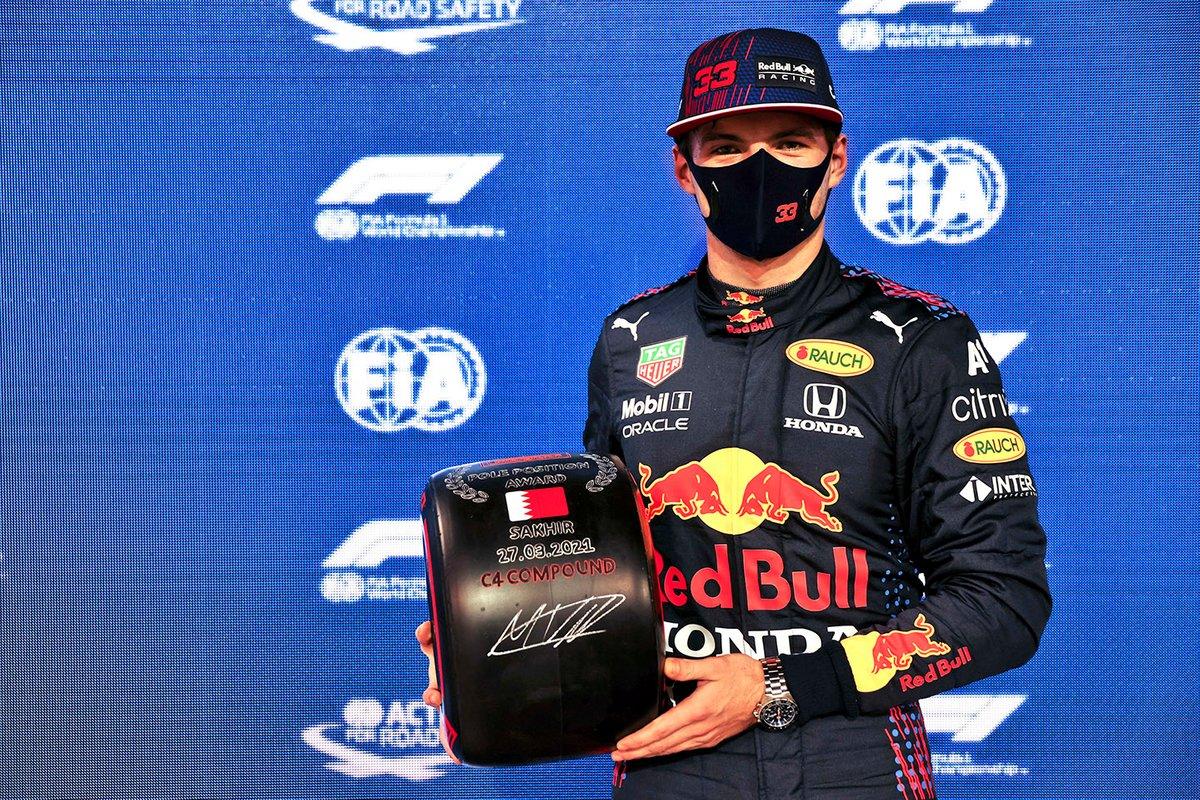 Max Verstappen, Red Bull Racing conquista la pole position